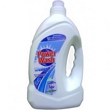 Power Wash Gel Weiss – жидкий гель для белого белья, 4000 мл.