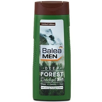 Мужской гель Balea Men Deep Forest 3in1