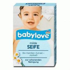 Babylove milde Seife – детское твердое мыло, 100 гр.