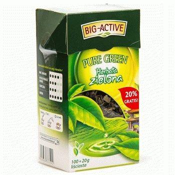 Зеленый чай Big-Active Pure Green