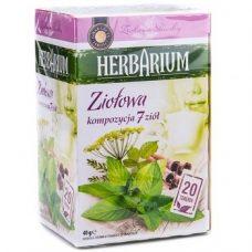 Травяной чай Herbarium Ziolowa