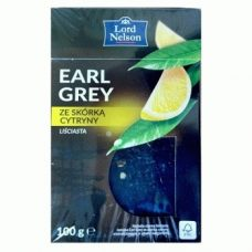 Lord Nelson Erl Grey – черный чай с бергамотом и лимоном, 100 гр.