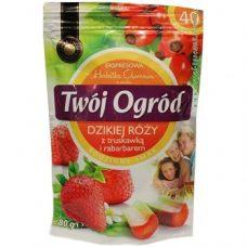Twoj Ogrod Truskawka – фруктовый чай (клубника + дикая роза + ревень), 40 шт.