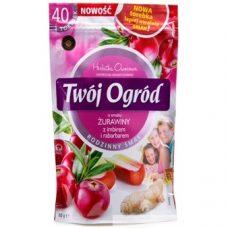 Twoj Ogrod Zurawiny – фруктовый чай (клюква + имбирь + ревень), 40 шт.