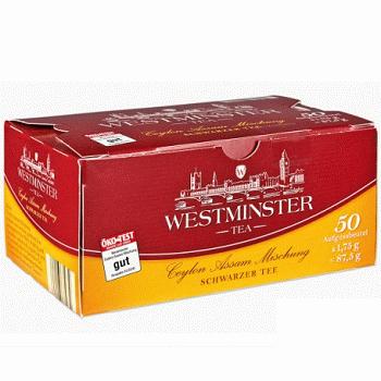 Westminster Tea – черный среднелистовой чай (в пакетах), 50 шт.