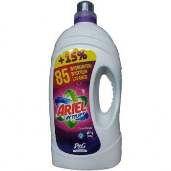 Ariel Actilift Color & Style – гель для цветного белья, 5650 мл.