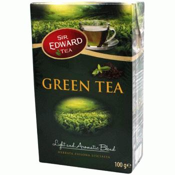 Sir Edward Green – зеленый листовой чай, 100 гр.