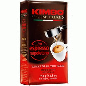 Kimbo Espresso Napolitano - кофе молотый, 250 гр.