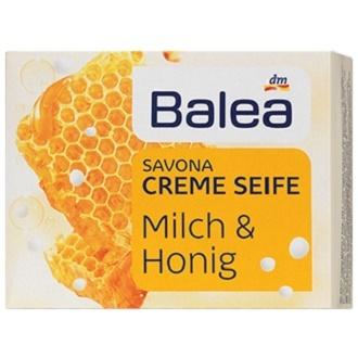 Balea Milch & Honig Creme Seife – твердое крем-мыло, 150 гр.