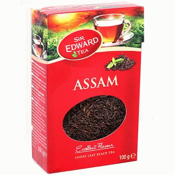 Sir Edward Assam – черный среднелистовой чай, 100 гр.