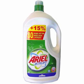 Ariel Actilift White — гель для белого белья, 5650 мл. [Наличие: Все регионы]