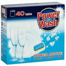 Power Wash Dishwashing – таблетки для посудомоечныхмашин, 40 шт.