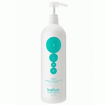 Kallos Shower Gel Creamy – очищающий крем-гель для душа, 1000 мл.