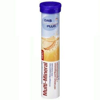 Шипучие витамины из Германии DAS gesunde PLUS Multi-Mineral