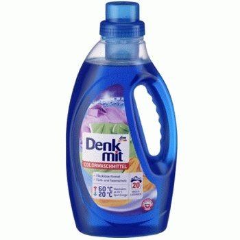 Гель для цветного белья Denkmit Colorwaschmittel