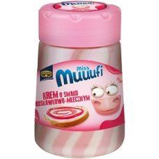 Kruger Miss Muuufi Krem – молочно-клубничная шоколадная паста, 400 гр.
