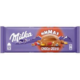 Milka Choco Jelly – молочный шоколад с мармеладом и карамелью, 250 гр.