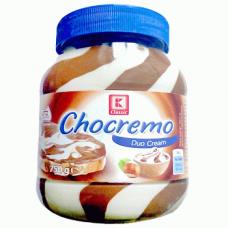 Chocremo Duo Cream – орехово-сливочная шоколадная паста, 750 гр.