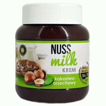 Шоколадная паста Nuss Milk Kakaowo-Orzechowy