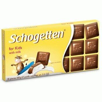 Детский шоколад Schogetten for Kids
