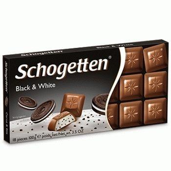 Шоколад Schogetten Black and White