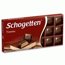 Черный шоколад Schogetten Tiramisu