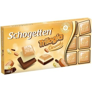 Шоколад Schogetten Trilogia Caramel