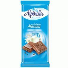 Alpinella Czekolada Mleczna – молочный шоколад, 90 гр.
