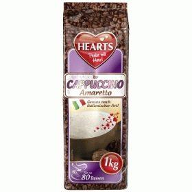 Hearts Cappuccino Amaretto – капучино со вкусом амаретто, 1000 гр.