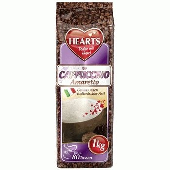 Капучино Hearts Cappuccino Amaretto