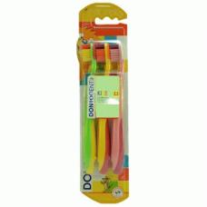 Dontodent Kids Soft – детская зубная щетка (3-6 лет), 3 шт.