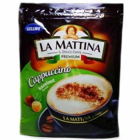 Gellwe La Mattina Hazelnut – капучино с ореховым вкусом, 100 гр.
