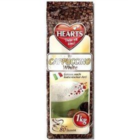 Hearts Cappuccino White – капучино со вкусом молока, 1000 гр.