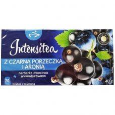 Intensiteaz Czarna Porzeczka – ягодный чай «Смородина и рябина», 20 шт.