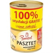 Pamapol Pasztet Mazowiecki – свиной паштет, 390 гр.