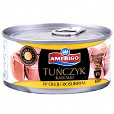 Amerigo тунец в растительном масле фото