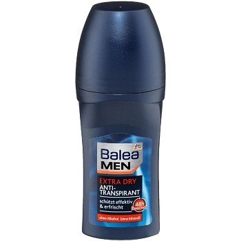 Balea Men Extra Dry – мужской шариковый дезодорант, 50 мл.