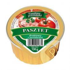 Familijne Przysmaki Z Drobiem i Pomidorami – куриный паштет с томатами, 130 гр.