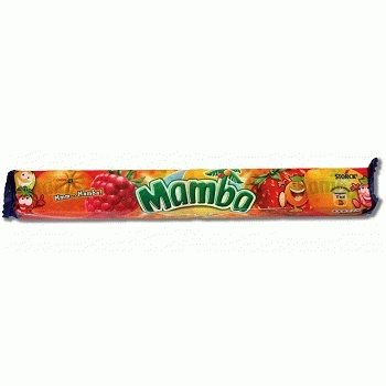 Mamba – жевательные конфеты с фруктовыми вкусами, 106 гр.