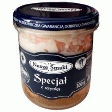 Nasze Smaki Special – тушенка свиная с беконом, 300 гр.