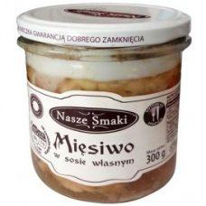 Nasze Smaki Miesiwo – тушенка свиная в собственном соку, 300 гр.