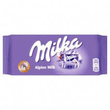 Молочный альпийский шоколад Milka Alpine Milk