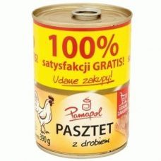 Pamapol Pasztet z Drobiem – куриный паштет, 390 гр.