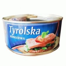 Tyrolska Konserwa – свиная консерва (тушенка), 300 гр.