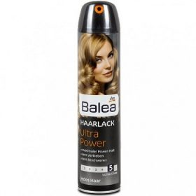 Balea Haarlack Ultra Power 5 – лак для волос (экстра фиксация), 300 мл.