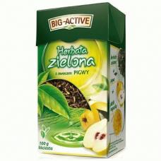 Big-Active z Pigwy – зеленый чай с айвой, 100 гр. [Наличие: Все регионы]