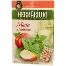 Herbarium Mieta z Jablkiem – травяной чай с мятой и яблоком, 30 шт.