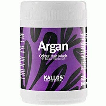 Kallos Argan Mask – маска для окрашенных волос, 1000 мл.
