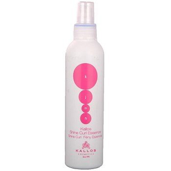 Kallos Shine Curl Essence – спрей-эссенция для вьющихся волос, 200 мл.