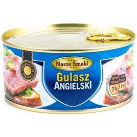 Nasze Smaki Gulasz Angielski – гуляш консервированный, 300 гр.